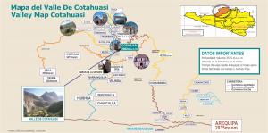Cotahuasi canyon map