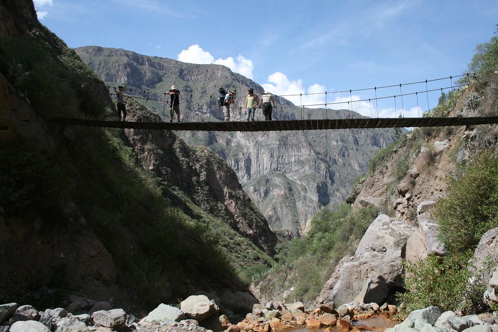 colca canyon trek 4 days