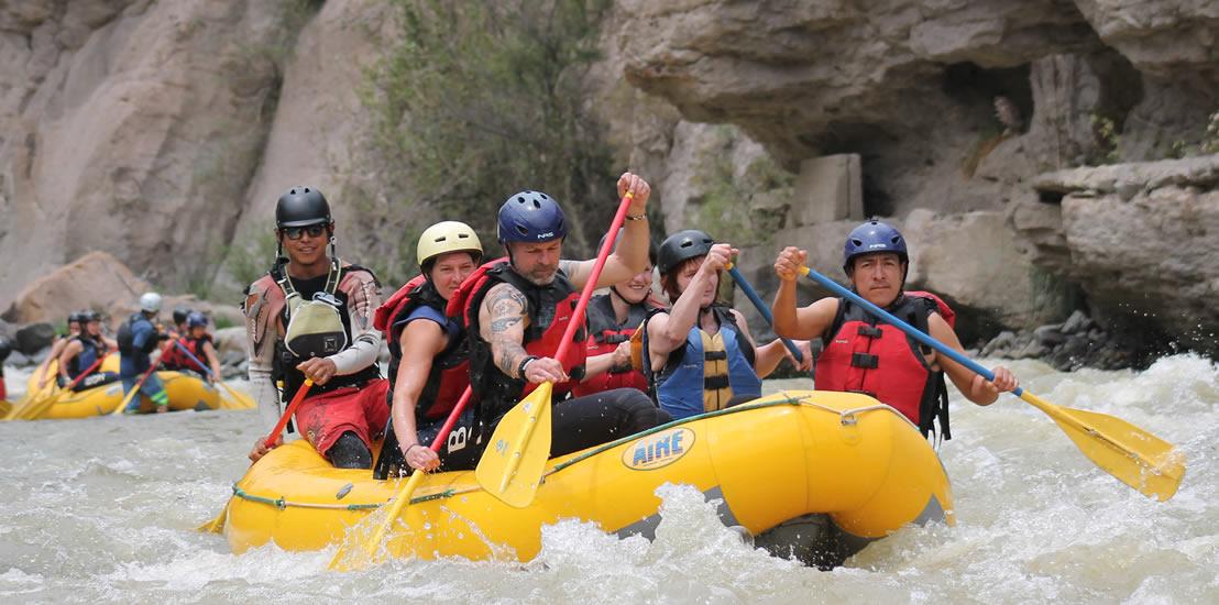 Arequipa Chili River Rafting