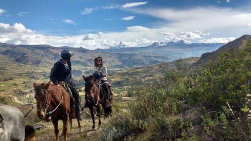 colca canyon horseback riding tour
